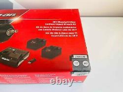 New Snap Sur 18 V Monsterlithium Sans Fil Gun Metal Impact Wrench Kit Ctu9075gm