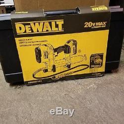 Nouveau Dewalt Dcgg571m1 Max Sans Fil Grease Gun Kit Avec La Vente Case New Vente