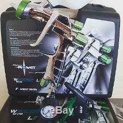 Nouveau Iwata Ls400 Impact 2 Kit 1.3et Entech Pistolet Basecoat Unique