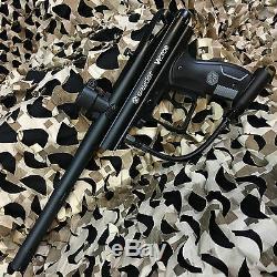 Nouveau Kingman Spyder Victor Legendary Kit De Pistolet Pour Paintball Diamant Noir