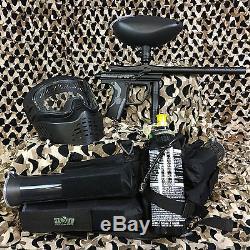 Nouveau Kit Coffret Pistolet Pour Marqueur De Paintball Kingman Spyder Fenix epic, Diamant Noir