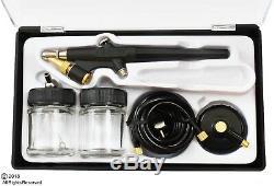 Nouveau Kit De Brosse À Air Avec Accessoires Hobby Gun Nail Body Art