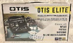 Nouveau! Kit De Nettoyage De Carabine Avec Pistolet Otis Elite Fg-1000 Avec Équipement De Nettoyage D'optique