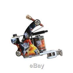 Nouveau Kit De Tatouage 4 Mitrailleuse 40 Couleur Aiguille D'alimentation D'encre Power Grip Tip Set H