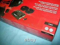 Nouveau Snap-on Ct9010 18v 18 Volts Sans Brosse Sans Fil 3/8 Impact Wrench / Gun Kit