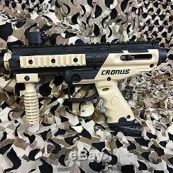 Nouveau Tippmann Cronos Légendaire Marker Paintball Gun Package Kit Tan / Noir