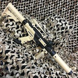 Nouveau Tippmann Cronos Tactique Légendaire Paintball Gun Package Kit Tan / Noir