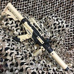 Nouveau Tippmann Cronus Tactical Epic Kit De Pistolet Pour Marqueur De Paintball, Havane / Noir
