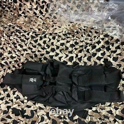 Nouveau Tippmann Cronus Tactical Epic Paintball Gun Kit Paquet Noir/noir