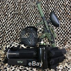 Nouveau Tippmann Cronus Tactical Legendary Kit Paquet Pistolet Pour Paintball Vert Olive / Noir
