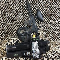 Nouveau Tippmann Us Army Projet Kit De Pistolet Marqueur Pour Paintball Marqueur Salvo Epic Noir