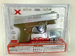Nouveau Umarex Xcp Semi-automatic Bb Gun Air Pistol Kit Co2 & Bbs Inclus 410 Fps