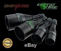 Opticfire Xs 4 Lampe Torche Led Haute De Chasse De Puissance Lamping Canon Léger Kit Suprême