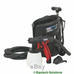 Outils Électriques Sealey Hvlp3000 Peinture Laque Spray Pulvérisateur Gun Kit Shed Clôture