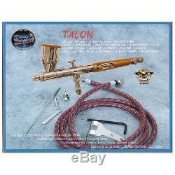 Paasche Tg-set Talon Kit Airbrush À Double Action Pistolet À Peinture Automatique Graphiques