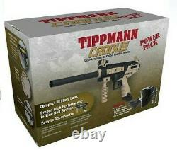 Paintball Gun Kit Tippmann Cronus Powerpack Semiautomatic. Combo Calibre 68