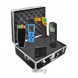 Paranormal Ghost Hunting Equipment Kit K2, Emf, Temp Gun, Camera, Et Recorder