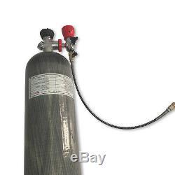 Pcp Pistolet À Air 6.8l Ce 4500psi Marine Hpa Réservoir En Fibre De Carbone Kits De Cylindre De Plongée Sous-marine
