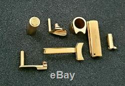 Pièces Gun Sur Mesure 24k, 18k, 14k, Plaqué Or 9 Service Kit De Pièces, Chapeado De Partes