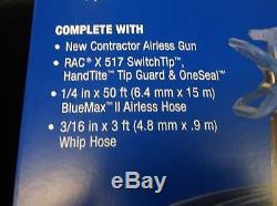 Pistolet À Peinture Sans Air Graco 288487 Kit De Tuyau Racx + Tuyau Fouet & Pointe Livraison Gratuite
