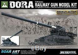 Pistolet De Chemin De Fer 135 Dora Allemand De La Seconde Guerre Mondiale (modèle)