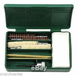 Pistolet Kit De Nettoyage 8+ Pièces! 9 MM Brosses Gun. 357,380 + Free Lumière Led Bore