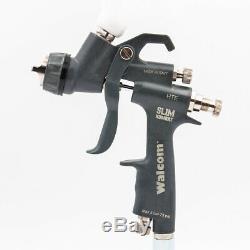 Pistolet Walcom Slim Hte Kombat 1.3 Aérographe Walmec En Kit Magnésium Et Kevlar