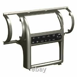 Pour Infiniti G35 03-04 Scosche Ii1652gmb Double Din Gun Metal Stereo Dash Kit