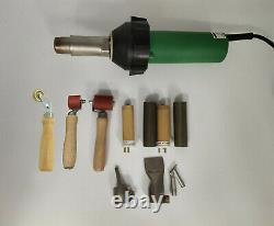Professional 1600w Soudeur En Plastique Pistolet À Chaleur Tpo Toiture Kits De Soudage À Air Chaud