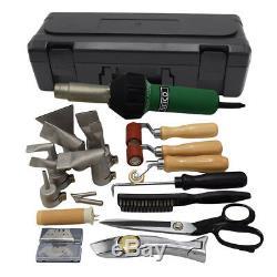 Professionnel Tpo / Pvc Unicouche Roofing Hot Air Gun Welding Kit D'outils (withcase)