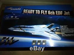 Rc F14 Tomcat 70mm Edf Jet Aile Swing Rétracte Top Gun Kit Jolly Rogers Rtf