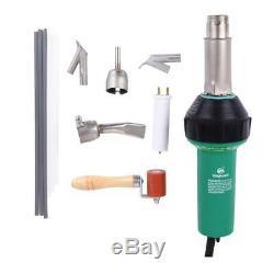 Ridgeyard 1600w Air Chaud Torche De Soudage En Plastique Pistolet Soudeur Pistolet Tool Kit