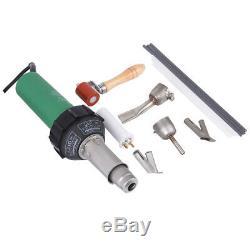 Ridgeyard 1600w Pistolet À Air Chaud En Plastique Au Soudage Soudeur Kit & Rod Nozzles