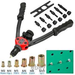 Rivet Gun Kit Écrou Thread Setting Tool Nuts Setter Sae Riveting