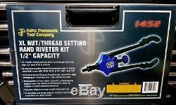 Rivet Gun Kit Rivet Écrou D'outils À Main Riveteuse 1/2 Capacité Nut Setter Nutsert Rivnu