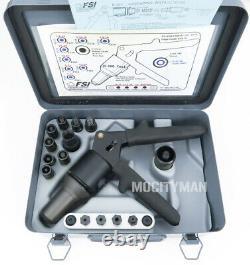 Rivet Gun Riveteuse Fsi Kit Hydraulique Modèle D-100-mil-1 Made In USA