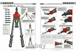 Rivet Nut Gun Kit Rivnut Réglage Nut Setter Tool Hand Blind Riveter 11 Mandrel