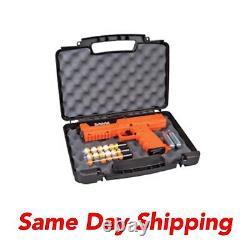 Sabre Pepper Spray Launcher Home Defense Kit Co2 Air Gun, Orange, 7 Tirs Sl7