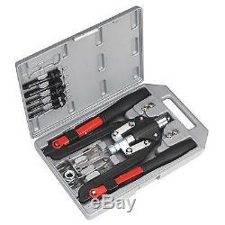 Sealey - Kit / Set Pistolet Riveteuse À Écrou Fileté À Usage Intensif Pour Écrou Fileté Ak39602