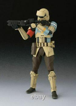 Sh S. H. Figuarts Shoretrooper Rogue One Scarif Skarif Storm Star Wars Bandai Nouveau