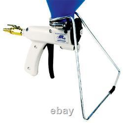 Sharpshooter 2.1 Drywall Texture Hopper Gun Withstand, Kit De Reconstruction, Brosses, Chemise
