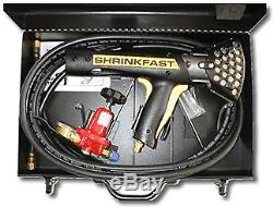 Shrinkfast 998 Shrink Gun Wrap (kit Complet Avec Le Cas) Nouveau Distributeur Direct