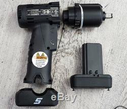 Snap On Ct761 Cordonnerie Kit Black 3/8 Disque 14.4v Impact Gun + Batterie Shell