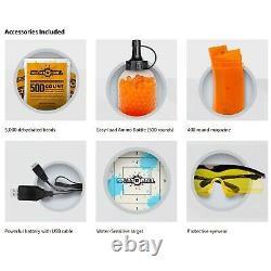 Splatrball Complet Et Semi-auto Électrique Rechargeable Soft Water Bead Blaster Kit