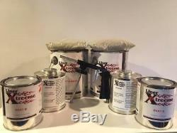 Spray Couleur Doublure De Caisse Kit, 3 Gal Gun, Bedliner Tintable Ou Couleur Withgun 12 Litres