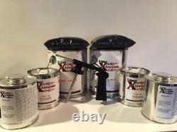 Spray In Mixte Bedliner Kit Noir 3 Gallons Doublure De Caisse Avec Arme À Feu, 12 Litres