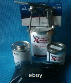 Spray In On Bedliner Kit, Bed Liner Noir 1,5 Ga Linerxtree No Gun 6 Liter