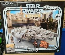 Star Wars The Vintage Collection Galaxys Bord Du Faucon Millenium Smugglers Run