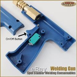 Stud Gun Marteau A Uni Spotter Deluxe Starter Plus Kit Tri Crochet Chuck Stinger