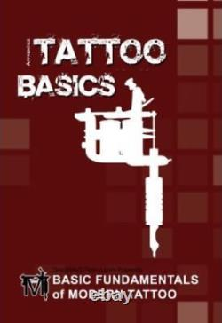 Tatouage Visage Pirate, Kit De Tatouage Grinder, 4 Mitrailleuses De Tatouage, Alimentation, 7 Encres